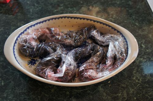 Yarn in plate