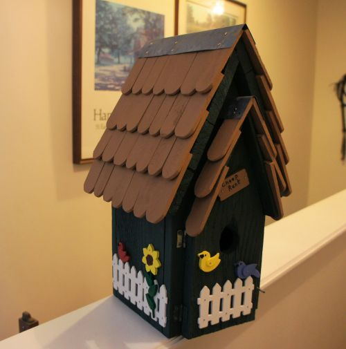 birdhouse after
