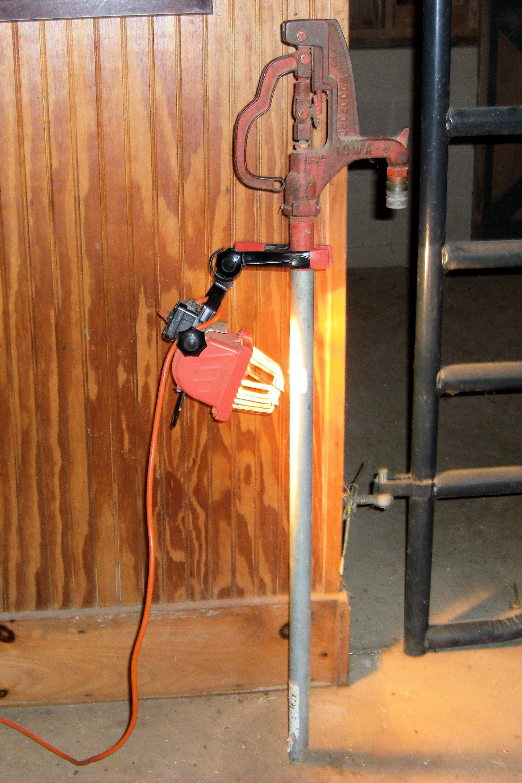 Winter in the Barn | Twin Creeks Musings